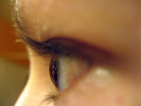 Eyeball, Close-Up, Girl, Eye, Face,Farsightedness