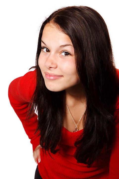 大人, 通信, かわいい, 顔, 女性, ジェスチャ, 女の子, 髪, 幸せ, 頭, 聞く, 耳を傾ける, 人