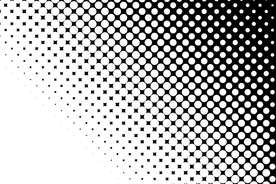 Dots Black White · Free Image On Pixabay