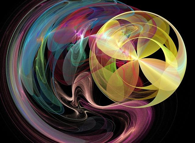 Illustration gratuite fractale fractales arc en ciel - Image arc en ciel gratuite ...