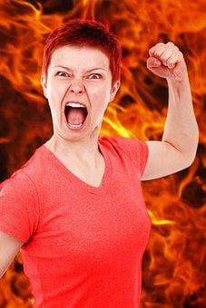 Anger Angry Bad Burn Dangerous Emotion Evi