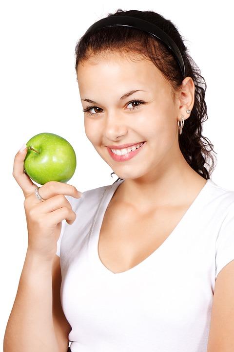 Apple, Diät, Gesund, Essen, Lebensmittel, Obst, Grün