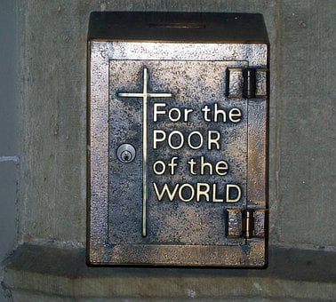 Box, Charity, Catholic, Church, Poor
