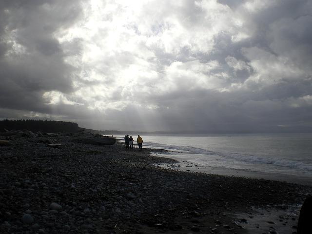 Beach And Ocean Storm: Free Photo: Ocean, Beach, Sand, Storm, Clouds
