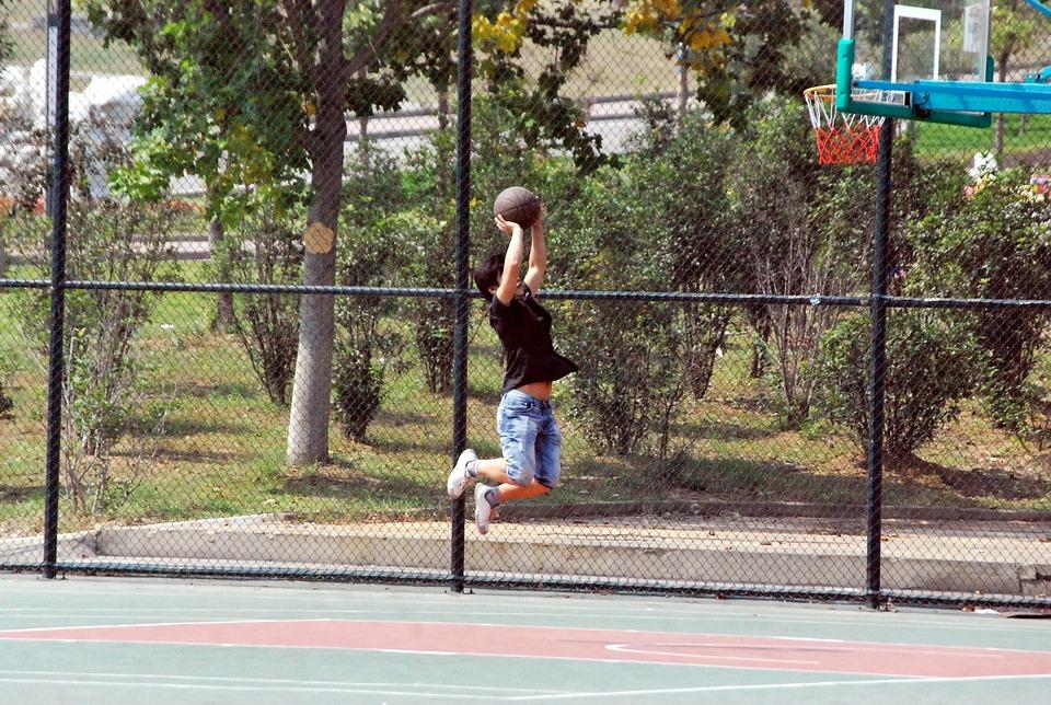 Basketball, Shooting, Shoot, Jump, Shot, Practice