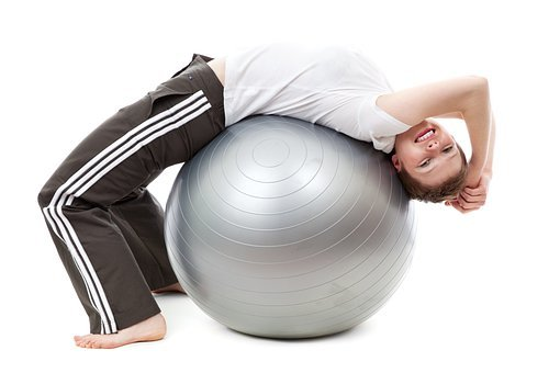 Active, Activity, Ball, Exercise, Female
