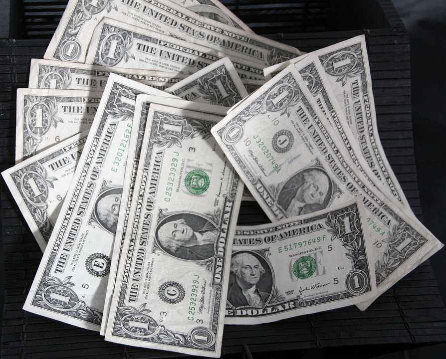 ドル, お金, 現金, 通貨, アメリカ, 米国, アメリカ合衆国, 金融, 投資, 銀行, 成功, 裕福な