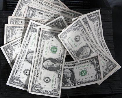 ドル, お金, 現金, 通貨, アメリカ, 米国, アメリカ合衆国, 金融