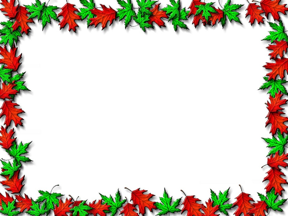 Leaf Border Background · Free image on Pixabay