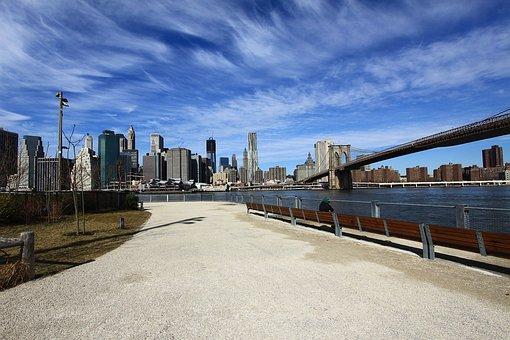 New, York, City, Manhattan, Island