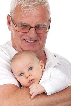 少年, 白人, 子, 孫, 祖父, 幸せ, 子ども, 男性, 男, 人, 肖像画