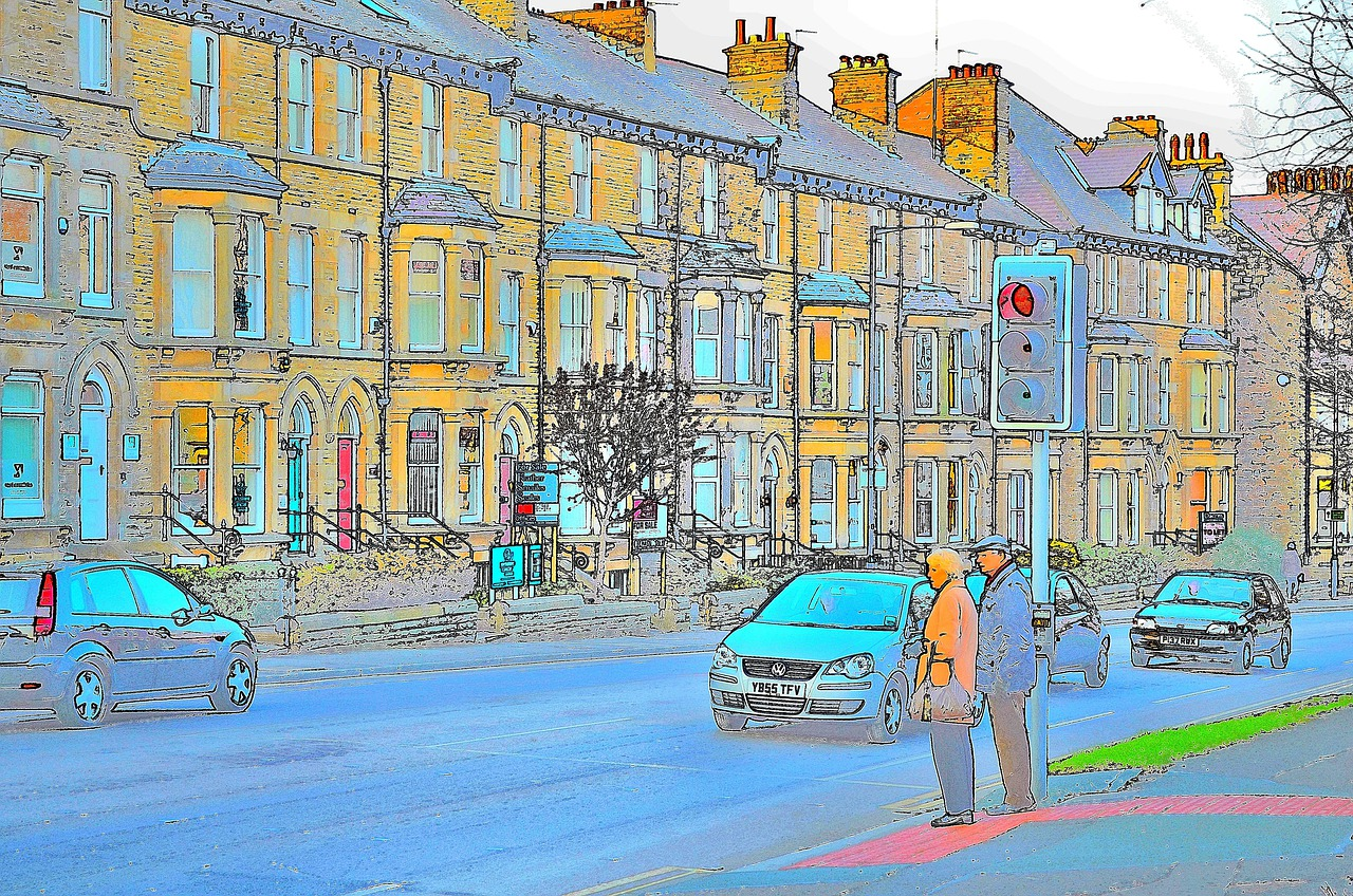 выпуклой картинки улиц нашего города конденсатор