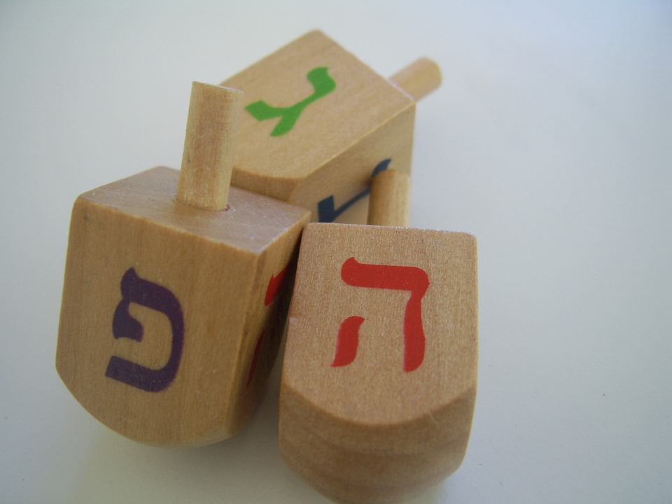 Free photo: Dreidels, Hanukkah, Spinning Tops - Free Image ...