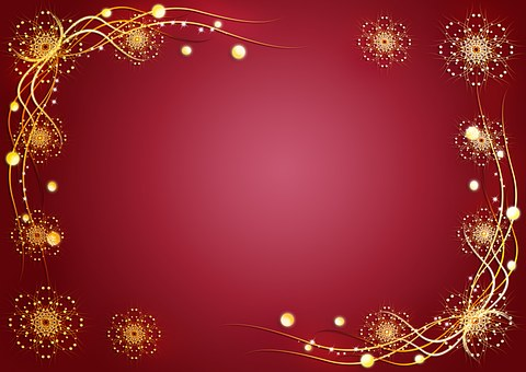 Background, Red, Pattern, Holiday