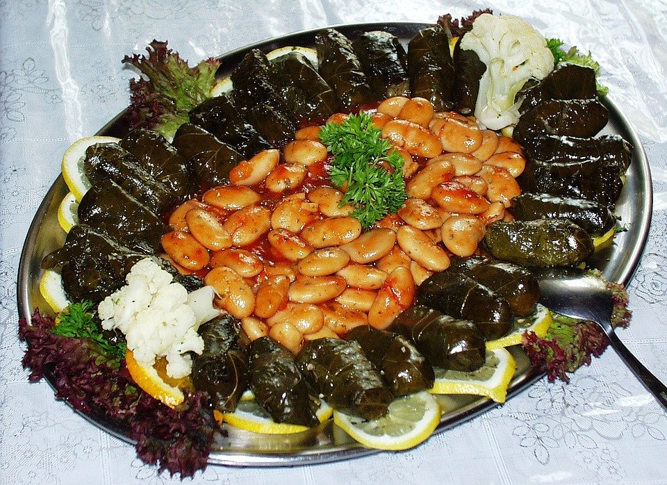 Free photo beans grape leaves greek food free image on pixabay 20375 - Healthy greek recipes for dinner mediterranean savour ...