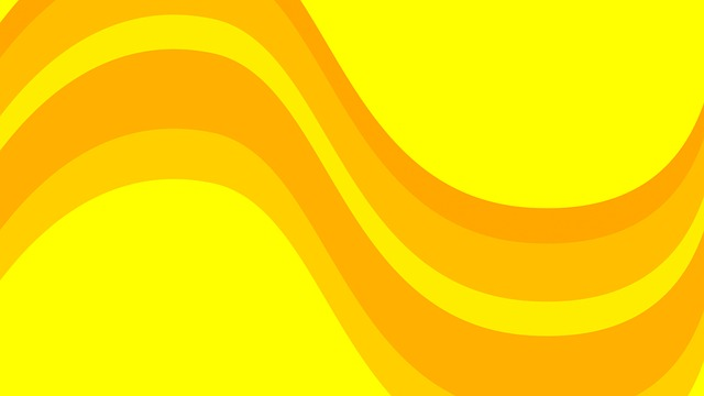 backgrounds yellow waves free image on pixabay