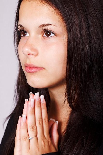 Girl Praying Hands  Free Photo On Pixabay-2192