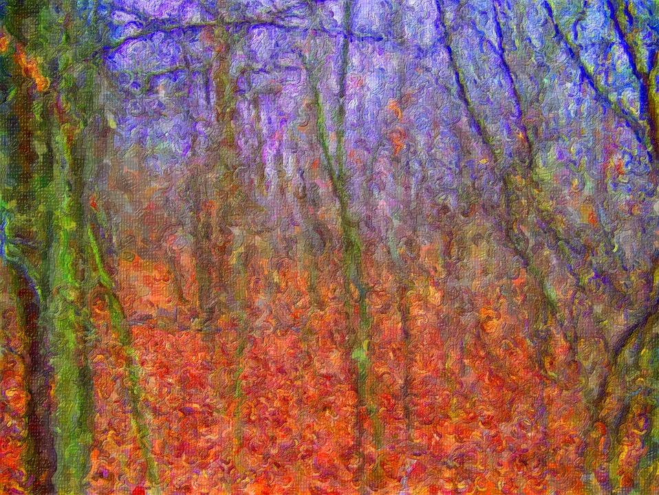 Orman Ağaçlar Sonbahar Pixabayde ücretsiz Fotoğraf