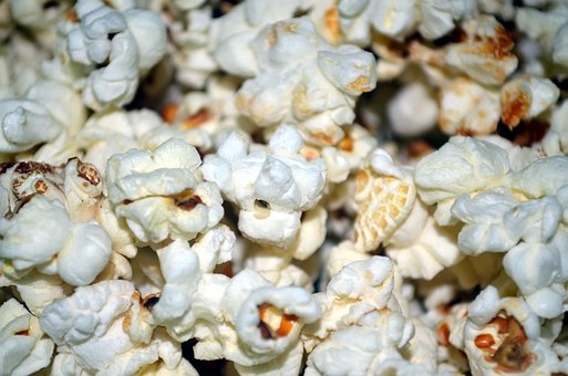 Popcorn Corn Kernel Kernels Burst Pop