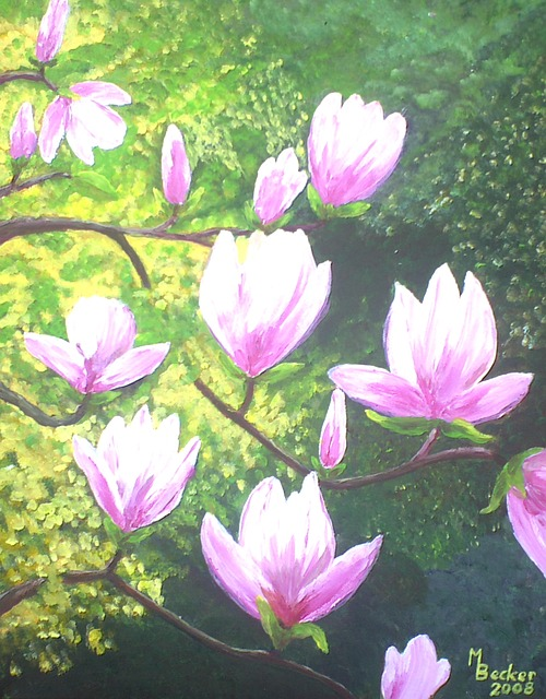 Farbe Magnolie mit beste stil für ihr haus ideen