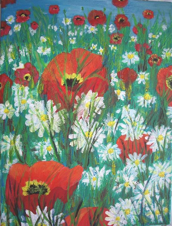 Bunga Padang Rumput Gambar Gratis Di Pixabay
