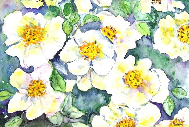 Free Illustration Flowers Nature Painting Image Free Image On Pixabay 21410