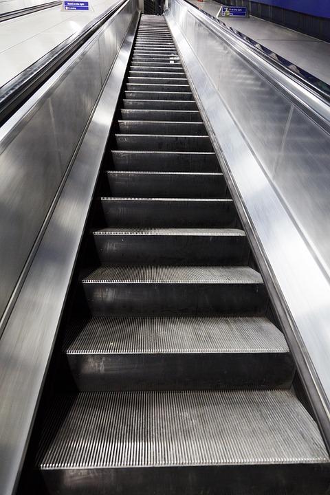 D\'Affaires Montée Escalier Roulant - Photo gratuite sur Pixabay