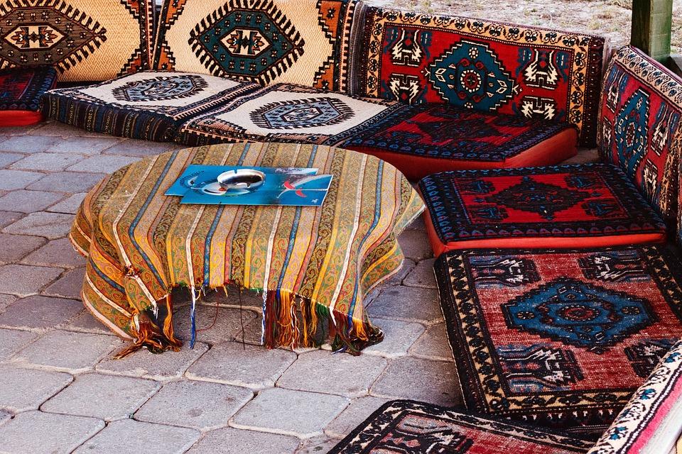 Кафе, Цвет, Культура, Декор, Украшение, Восток