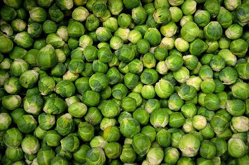 Brussels Sprouts, Vegetables, Sprouts