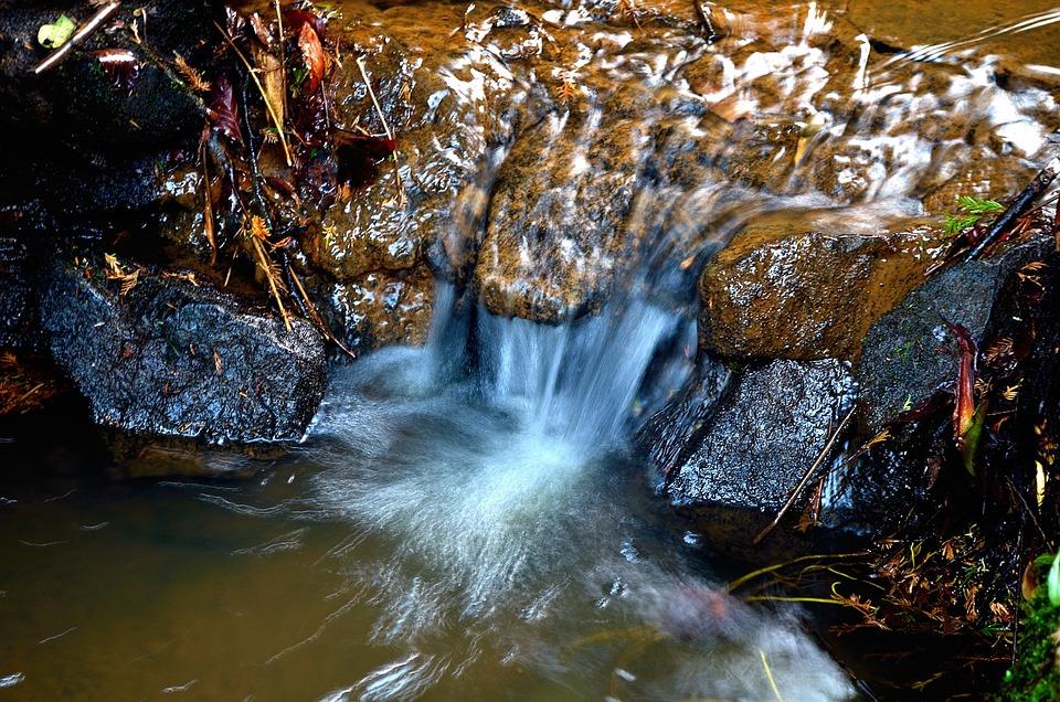 Water, Waterval, Achtergrond, Natuur, Element, Macro