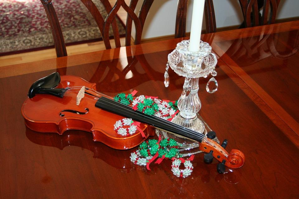 Christmas Violin.Christmas Violin Celebration Free Photo On Pixabay