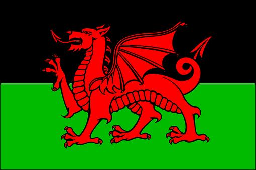 Welsh Flag, Drag, National Symbol, Wales