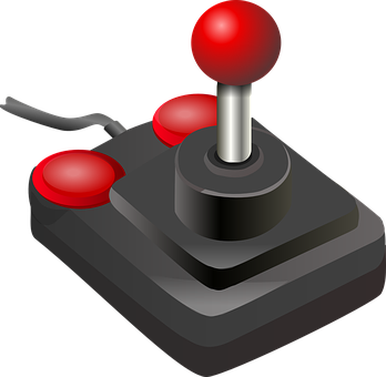 Joystick Game Controller Buttons Video Gam