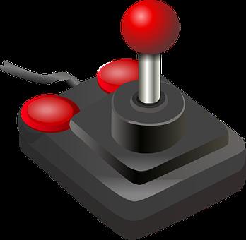 Joystick Game Controller Buttons Video Gam