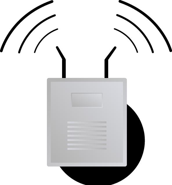 ルーター Wifi ワイヤレス コネクタ Pixabayの無料ベクター素材