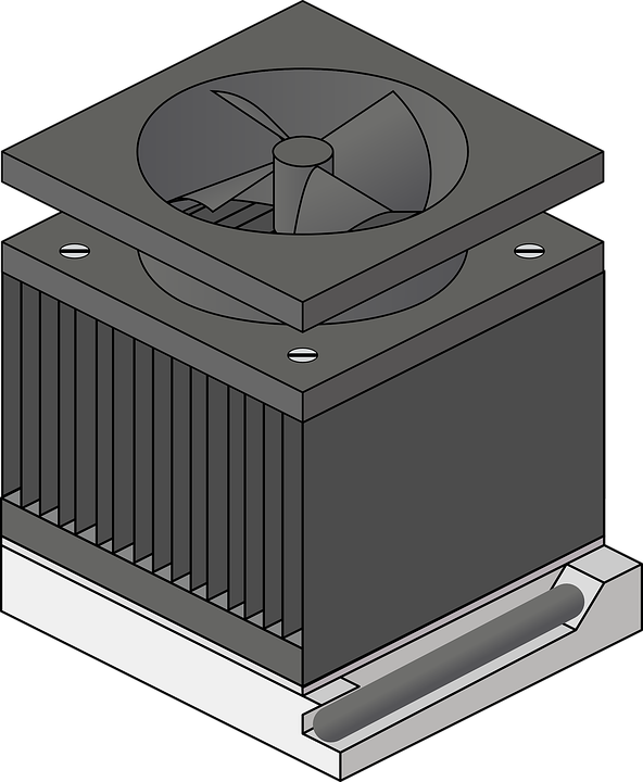 Cooling Fan Trading Computer