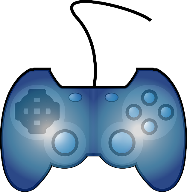 Gaming Controller Electronic Free Vector Graphic On Pixabay