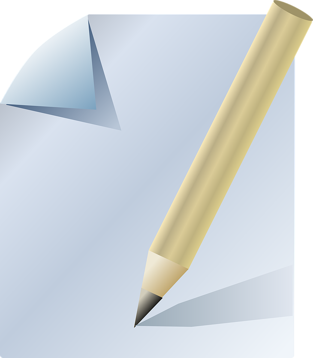 Pencil And Paper Doodle Writing 183 Free Vector Graphic On