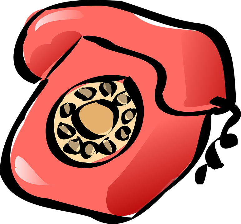 Telephone Classic Red 183 Free Vector Graphic On Pixabay