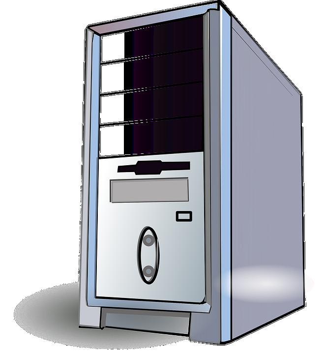 Arbeitsplatz computer clipart  Kostenlose Vektorgrafik: Server, Pc, Arbeitsplatz, Computer ...