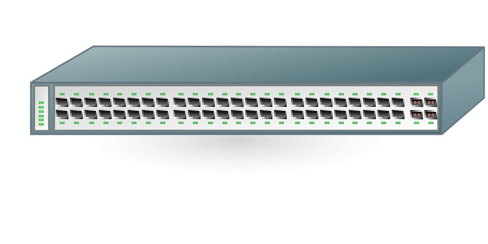Switch Network Ethernet · Free vector graphic on Pixabay