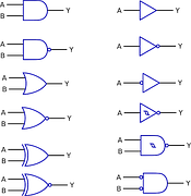 Image vectorielle gratuite transistor symbole for Transistor porte logique