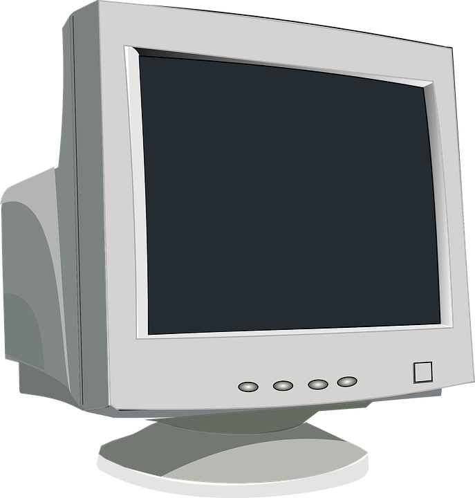 Monitor, Computer, Screen, Video, Tube