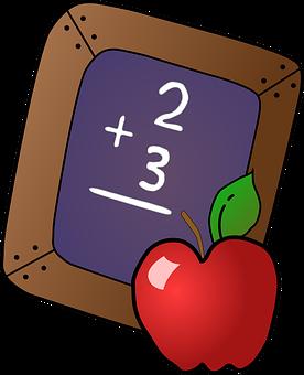 Blackboard, School, Chalkboard, Math