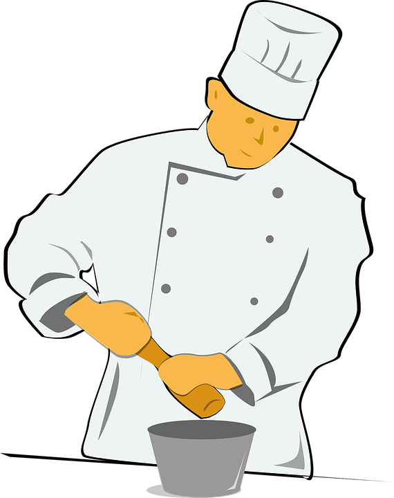 Chef Cooking Food Occupation Profession Hotel
