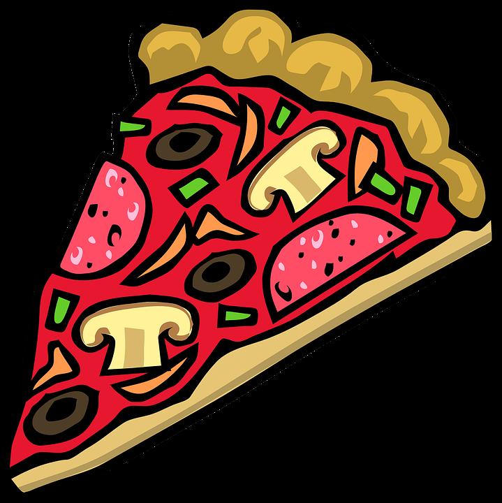 Pizza, Lebensmittel, Scheibe, Käse, Pilz, Gemüse