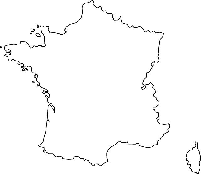 image vectorielle gratuite  france  carte  g u00e9ographie