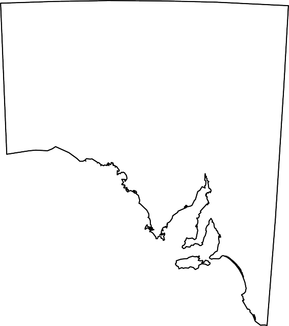 south australia map australian free vector graphic on pixabay