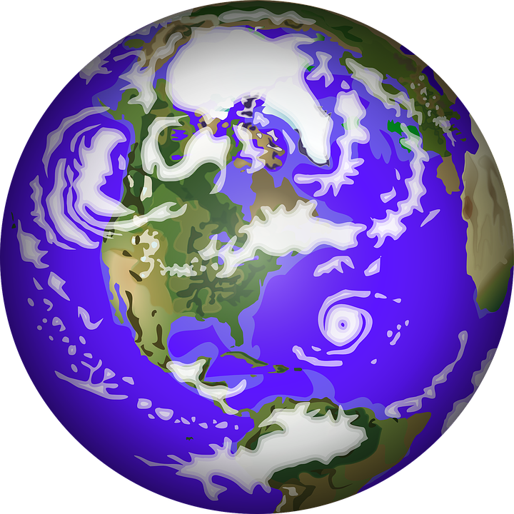 earth planet globe free vector graphic on pixabay rh pixabay com earth clipart free earth day clipart free