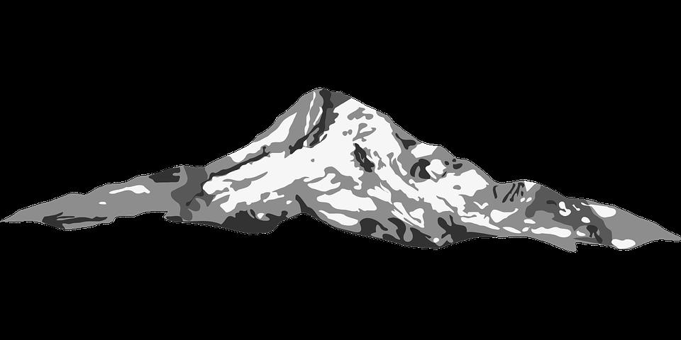 Gunung Bentang Alam Sketsa Hitam Gambar Vektor Gratis Di Pixabay